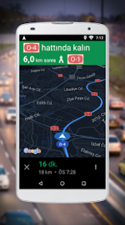 Google Maps Go için Navigasyon Resimleri