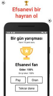 Futbol Bilgi Yarışması Süper Lig & FIFA/UEFA Resimleri