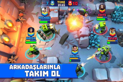 Tanks A Lot! - Realtime Multiplayer Battle Arena Resimleri
