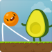 Where's My Avocado? Draw lines Android