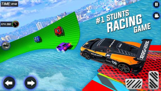 Extreme City GT Car Stunts Resimleri