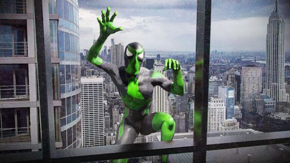 Halat Kurbağa Ninja Kahraman Garip Gangstar Vegas Resimleri