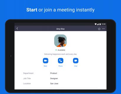 ZOOM Cloud Meetings Resimleri