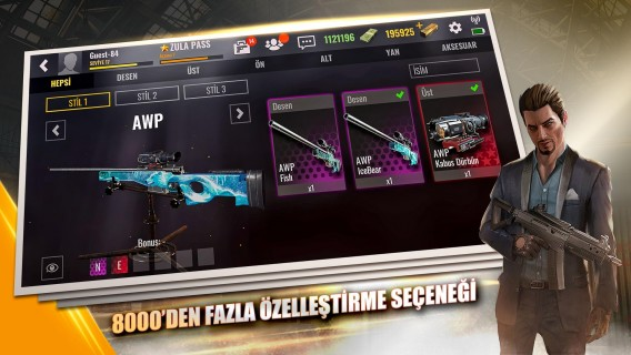 Zula Mobile: Online FPS Resimleri