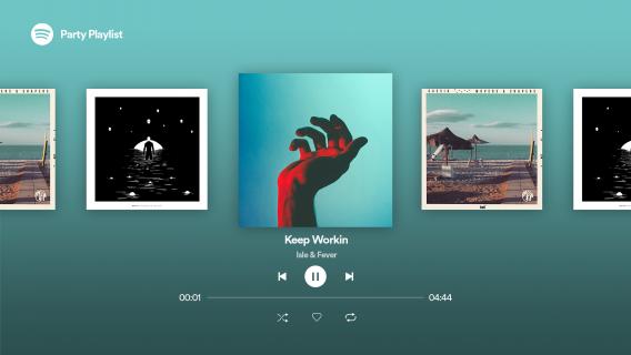 Android TV için Spotify Music Resimleri