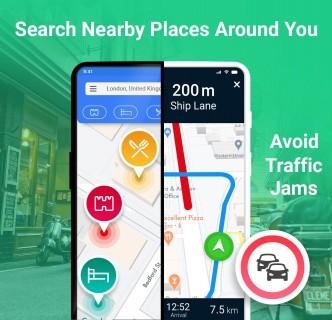 GPS Rota planlamacı : navigasyon & Rota bulucusu Resimleri
