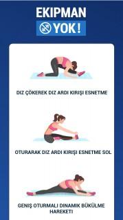 Bacak Açma Egzersizleri - Esneklik Egzersizleri Resimleri