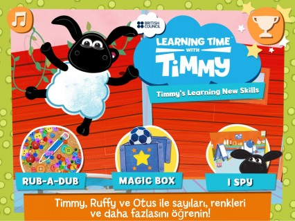 Timmy's Learning New Skills Resimleri