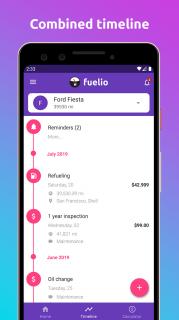 Fuelio: Yakıt ve Ücretleri Resimleri
