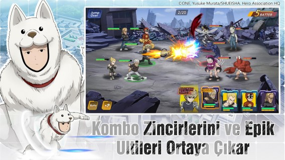 One-Punch Man: Road to Hero 2.0 Resimleri