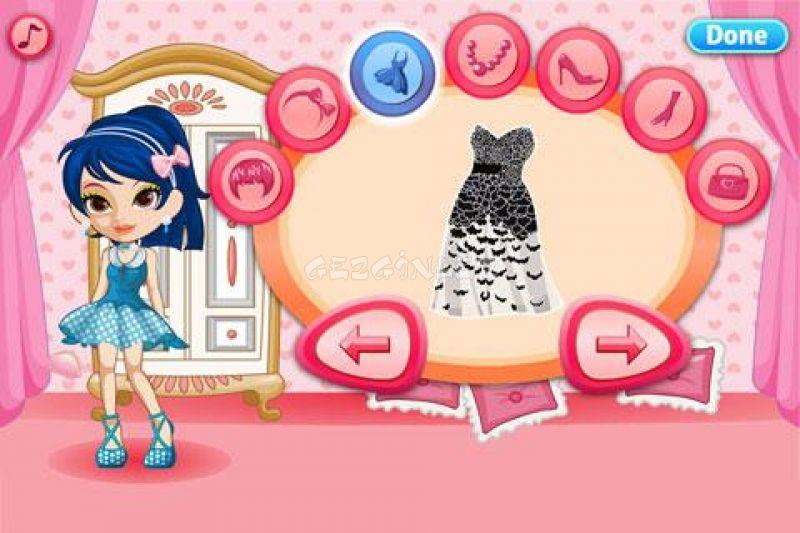 dress up prom night girls game ndir android gezginler mobil. Black Bedroom Furniture Sets. Home Design Ideas