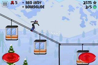 Stickman Snowboarder Resimleri