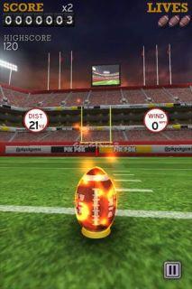 Flick Kick Field Goal Kickoff Resimleri