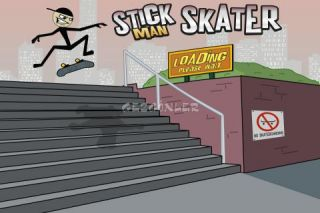 Stickman Skater Resimleri