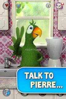 Talking Pierre the Parrot Free Resimleri
