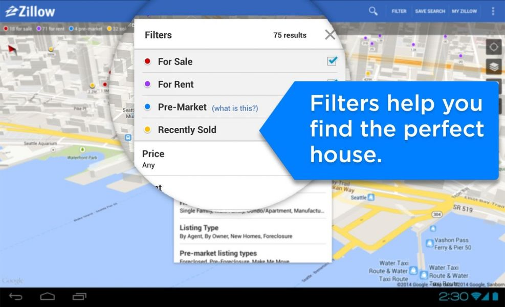 Zillow real estate zillow for Zillow pictures of homes