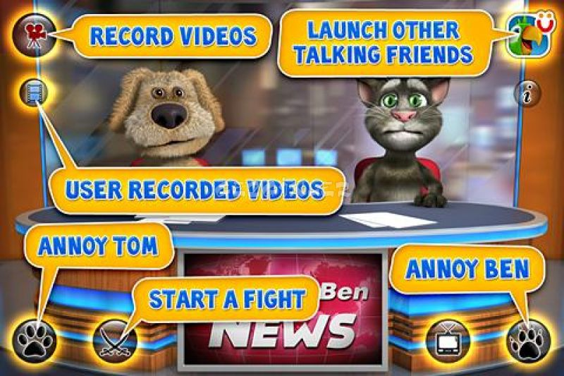 Talking Tom & Ben News Free Videoları