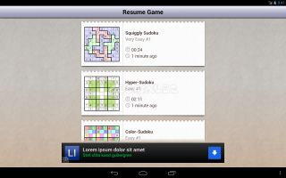 Andoku Sudoku 2 Free Resimleri