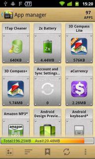 App 2 SD (app manager) Resimleri