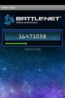 Battle.net Authenticator Resimleri