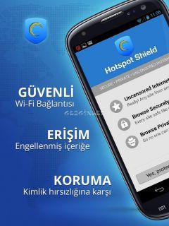 Hotspot Shield VPN Resimleri