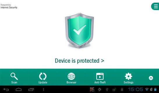Kaspersky Mobile Security Resimleri