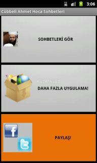 Cübbeli Ahmet Hoca Sohbetleri Resimleri