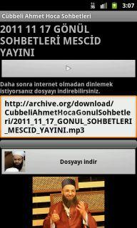C�bbeli Ahmet Hoca Sohbetleri Resimleri