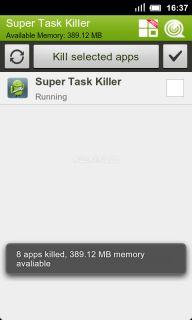 Super Task Killer FREE Resimleri