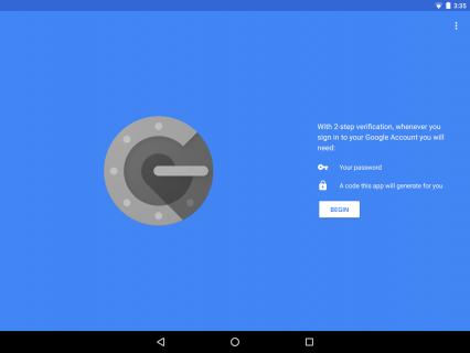 Google Authenticator Resimleri