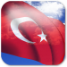 3D Turkey Flag LWP Android