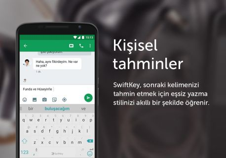 SwiftKey 3 Keyboard Resimleri