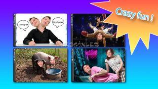 Funny Photo Studio - 2 Faces Resimleri
