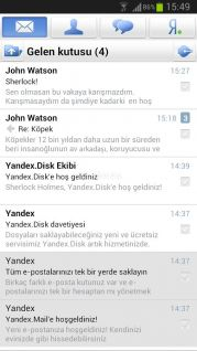 Yandex.Mail Resimleri