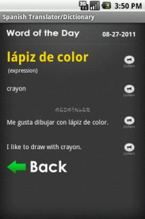 Talking Translator /Dictionary Resimleri