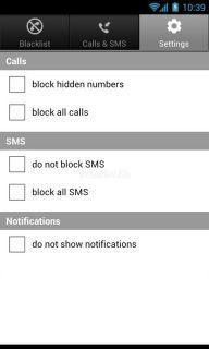 Calls Blacklist Resimleri