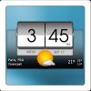 Android 3D Flip Clock & World Weather Resim