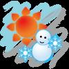 Android World Weather Clock Widget Resim