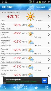 ForecaWeather Resimleri