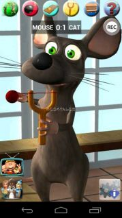 Talking Cat Vs. Mouse Resimleri