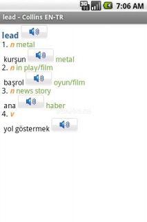 English<>Turkish Dictionary TR Resimleri