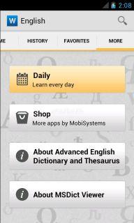 Advanced English & Thesaurus Resimleri