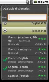 Offline dictionaries Resimleri