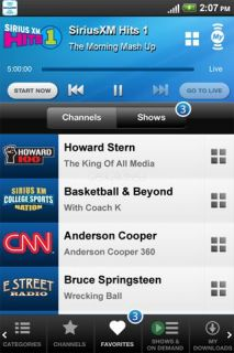 SiriusXM Internet Radio Resimleri