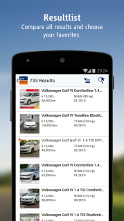 AutoScout24 - used car finder Resimleri