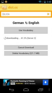 dict.cc dictionary Resimleri