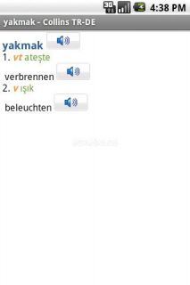 German<>Turkish Dictionary T Resimleri