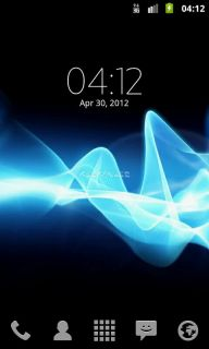 Digital clock Xperia™ NXT Resimleri