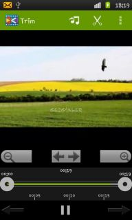 AndroVid Video Trimmer Resimleri