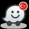 Android Waze social GPS traffic & gas Resim